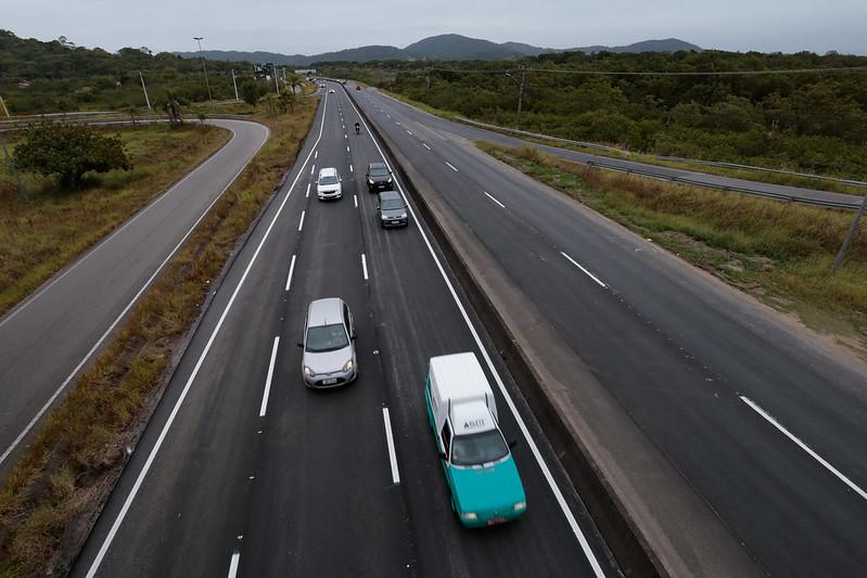 Revitalização da SC-401 oferece mais segurança de tráfego para moradores e turistas
