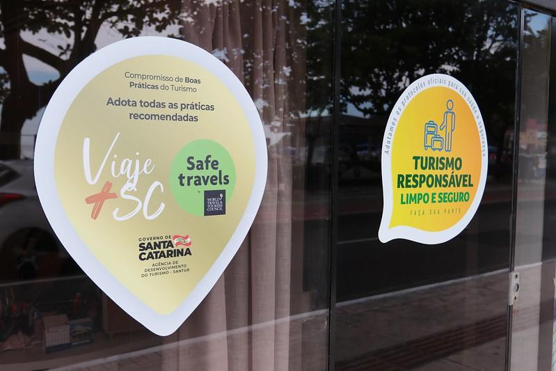 Programa Viaje+Seguro SC incentiva o turismo responsável em Santa Catarina