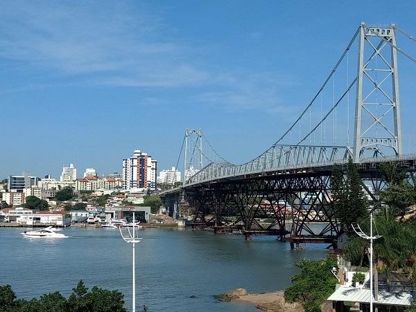 Ponte Hercílio Luz salta para a segunda posição em ranking de avaliações online